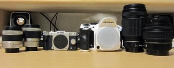 PENTAX Q10 ダブルズームキットとK-30 ダブルズームキット