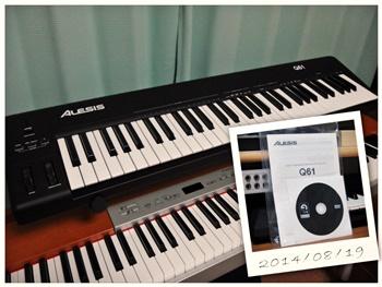 ALESIS USB/MIDI Keyboard Controller Q61