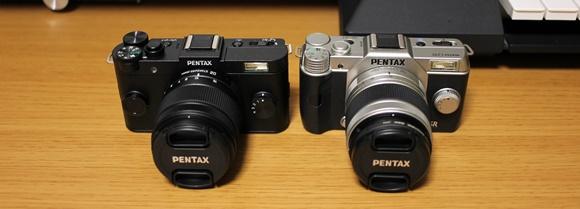 PENTAX Q10とQ-S1
