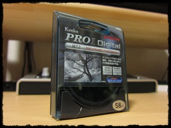 Kenko PRO1D R72 赤外撮影用フィルター