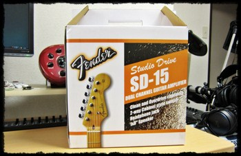 fender japan guitar amp SD-15