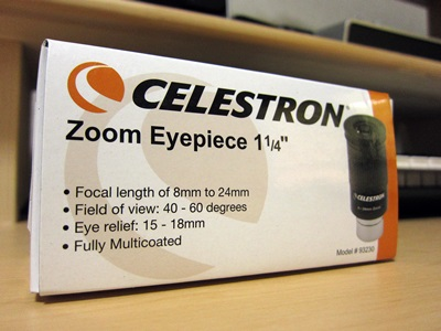 Celestron 93230 8 to 24mm 1.25 Zoom Eyepiece