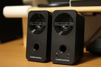オーディオテクニカ アクティブスピーカー AT-SP93 BK