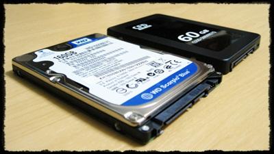 SSDとHDD