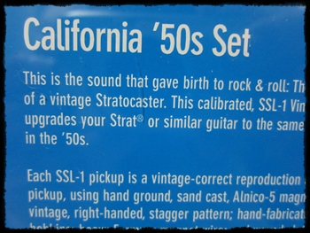 California 50's SSL-1set