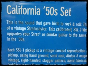 California 50's SSL-1set