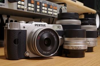 PENTAX Q10とQマウントレンズ