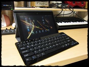 ソニー タブレットS Bluetooth キーボード