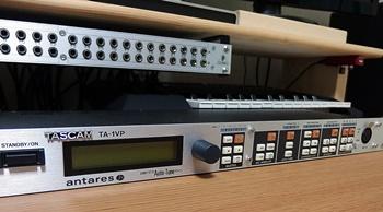 マイクプリアンプ TASCAM TA-1VP