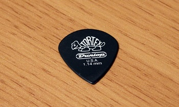 Tortex Pitch Black Jazz III 1.14mm