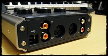 MIDIインターフェイス機能