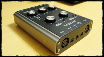 TASCAM AUDIO I/O