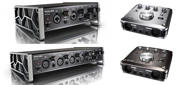 TASCAM US-2x2/US-4x4とUS-322/US-366