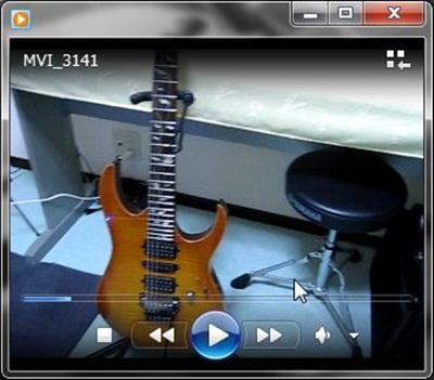 Cubaseで再生するビデオファイル