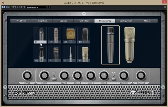 VST Bass Ampの使い方