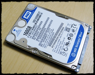 WD Scorpio Blue 160GB