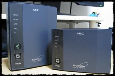 NEC WR8700N/WL300NE-AG