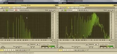 ギター 6弦開放 周波数帯域 原音とアンプの比較