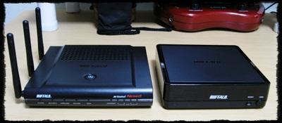 BUFFALO WZR2-G300N/WLI-TX4-AG300N