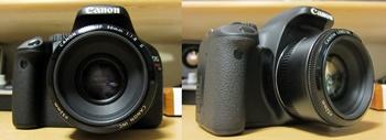 CANON EOS Kiss X4とEF50mm F1.8II